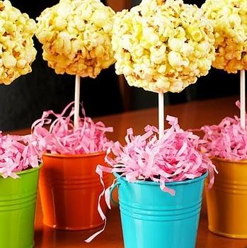 popcorn dekoracija